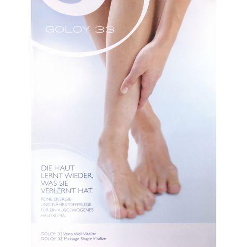 GOLOY 33 - Doppel-Sachet: Veno Well | Massage Shape